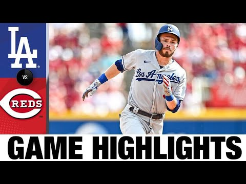 Dodgers vs. Reds Highlights (9/18/21)   MLB Highlights