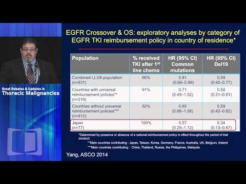 DEBATE: Drug of choice for exon 19 del EGFR mutant NSCLC - Afatinib