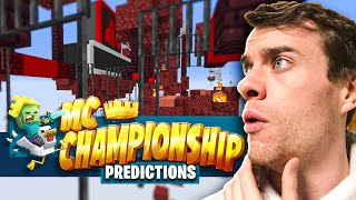 HBomb94's Minecraft Championship 8 *PREDICTIONS*