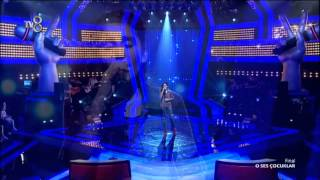 """Evin Bal finalde birinci olmak için """"Şiire Gazele"""" isimli şarkıyı söyledi."""