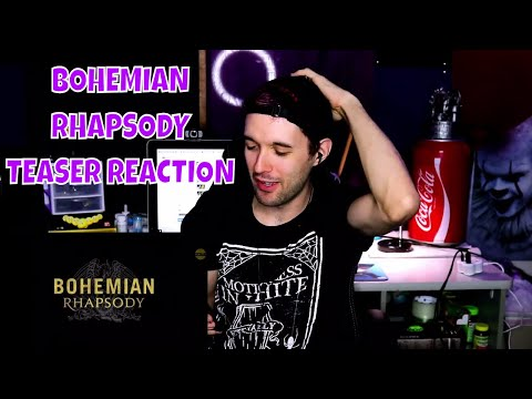 BOHEMIAN RHAPSODY TEASER TRAILER (REACTION)