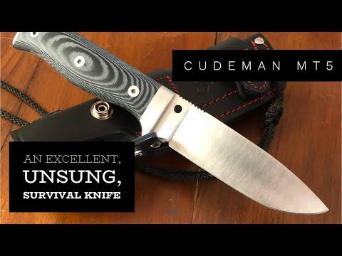 An Excellent Compact Survival Knife - Cudeman MT5