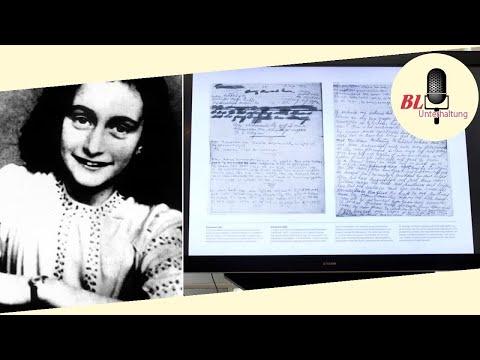 Zoten und mehr: Versteckter Text in Anne Franks Tagebuch entziffert