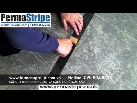 Permastripe Floor Marking Tape, An toàn hơn với miếng dán chống trượt ngã