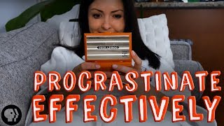 How To Procrastinate Effectively by BrainCraft