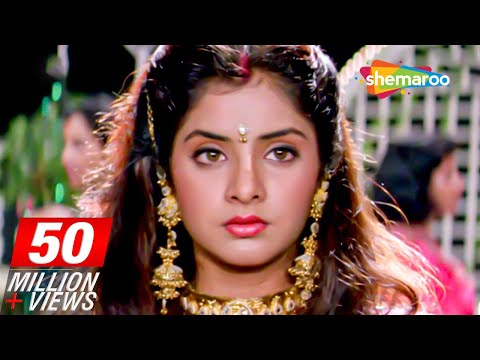 Sharukh Khan Celebrates Divya Bharti's Birthday scene from Deewana - Rishi Kapoor - 90's Movie