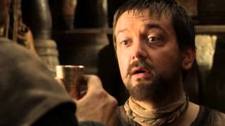 Season 1, Episode 7. King's Robert assassin hidden behind the face of wine seller is trying to poison Daenerys Targaryen. Owned by HBO. Contains spoilers.