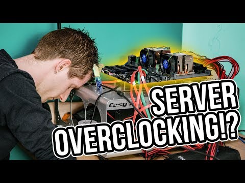 Overclocking a 56-Core Server - Is there ANY point?
