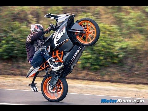 KTM RC 200 STUNT by DARK KNIGHT STREET|INDIA|MUMBAI