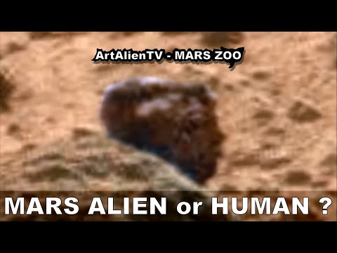 MARS ALIEN or HUMAN HEAD & Spear: SMOKING GUN. ArtAlienTV – MARS ZOO (R) 1080p
