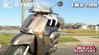 3. Kymco Scooters Delray Beach Like 200i