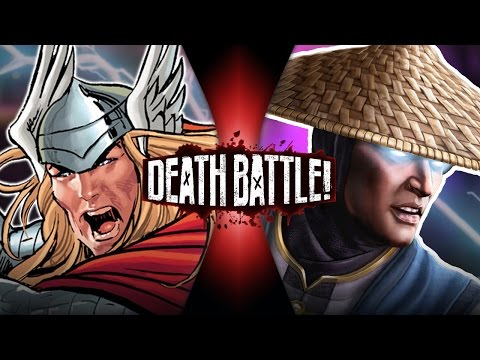 DEATH BATTLE! - Thor VS Raiden Video