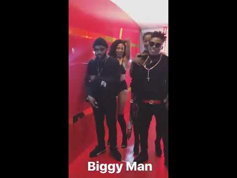 Behind The Scenes Instagram Story Of Biggie Man Video Shoot With Falz The Bahd Guy