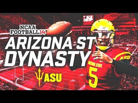 THE BEGINNING! - NCAA Football 14 Arizona State Dynasty [Ep. 1]