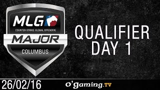 Tempo Storm vs G2 Esports - MLG Columbus 2016 - Qualifier Day 1