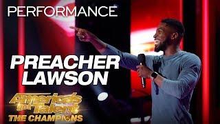 Video Preacher Lawson: Comedian Hilariously Describes His Love Life - America's Got Talent: The Champions MP3, 3GP, MP4, WEBM, AVI, FLV April 2019