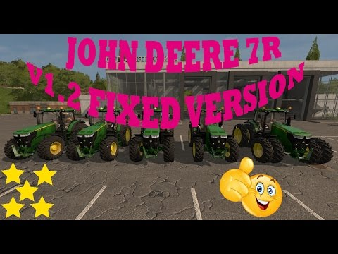 JOHN DEERE 7R v1.2 FIXED VERSION