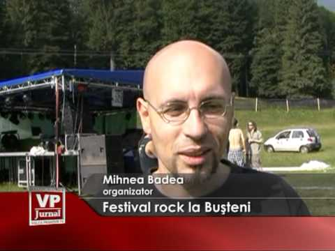 Festival rock la Buşteni
