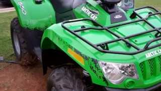 8. 2012 Arctic Cat 550i Green