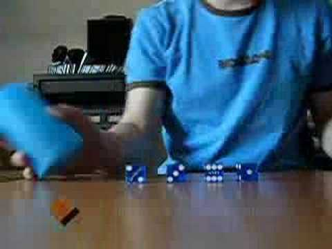 dice - My 3rd dice stacking movie Enjoy! More information: http://www.thomasfischbach.de.