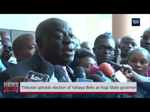 Tribunal Upholds Election Of Yahaya Bello As Kogi Governor
