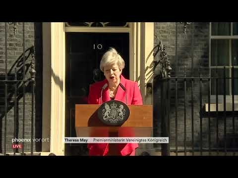 Großbritannien: Theresa May kündigt ihren Rücktritt als Parteichefin am 24.05.19 an