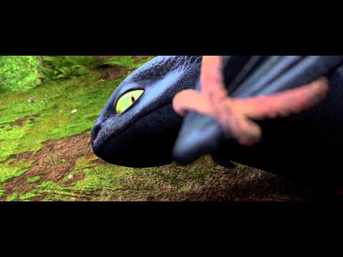 How To Train Your Dragon: Downed Dragon scene 4K HD