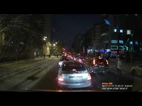 Авария с пешеходом в Екатеринбурге