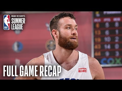 Video: PACERS vs PISTONS | Matt Costello Leads DET | MGM Resorts NBA Summer League