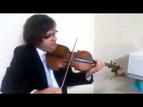 Triple concerto for faucet, water pipes and fiddle [1:21]