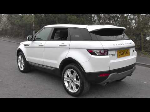 Land Rover Range Rover Evoque 5 Door Diesel 2012MY 2.2 SD4 Pure 190HP Manual 4WD U8895