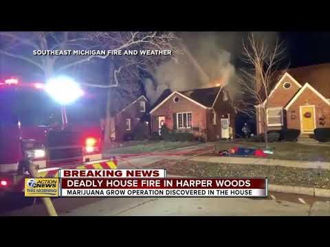 Deadly house fire in Harper Woods