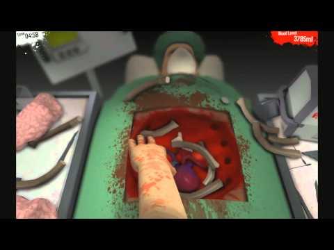 Dan Plays : Surgeon Simulator 2013