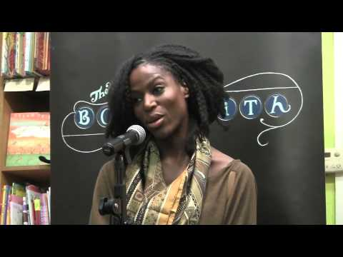 Taiye Selasi answers questions at the Booksmith in San Francisco