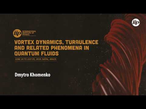 Energy spectra and Anisotropy of Counterflow turbulence in superfluid helium - Dmytro Khomenko
