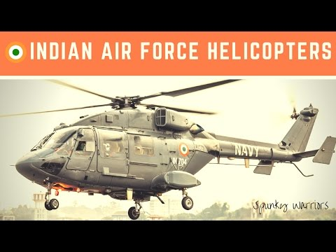 Watch Indian Air Force Helicopters...