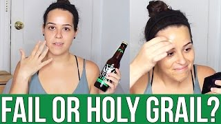 It's time for a new Fail or Holy Grail video! Today we are testing the beer face mask, made with only 3 ingredients! Watch to see if this crazy pinterest beauty hack is a fail, holy grail or a holy fail!Subscribe so you never miss a beat!REQUEST A HACK! -- http://goo.gl/forms/xdp1XegFN2PINS TESTED:https://www.pinterest.com/pin/456904324677413981/xo EllieLET'S BE FRIENDS: ♥ Twitter: https://twitter.com/ellkoNYC♥ Facebook: https://www.facebook.com/ellkoNYC♥ Tumblr: http://ellkoNYC.tumblr.com/♥ Instagram: http://instagram.com/ellkoNYC♥ Snapchat: ellkonycMUSIC: 'First to Last' From YouTube Audio LibraryFTC Disclaimer: This video is not sponsored. All products shown or mentioned were purchased by me.