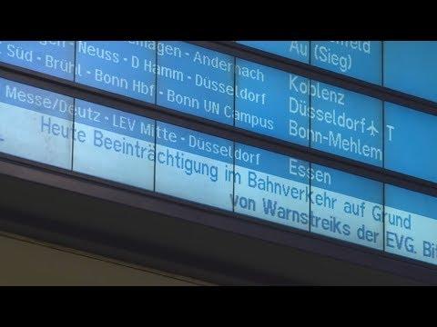 Bahn-Chaos: Bundesweiter Warnstreik - Fernverkehr kom ...