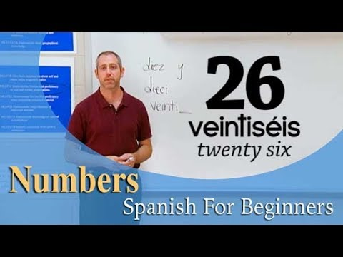Learn Any Number In Spanish| Spanish For Beginners (ep.9)