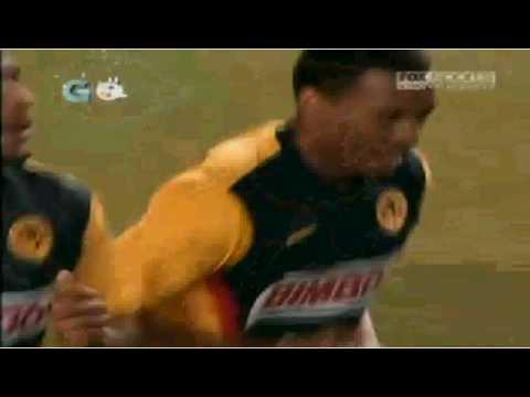 America vs Estudiantes Tecos 3-3 Interliga 2010 con un gol de Reyna