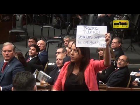 Opositores desacreditan informe de Cartes