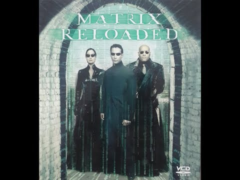 Opening To The Matrix Reloaded 2003 VCD (Singaporean Copy)