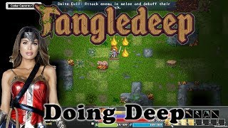 Exploring a labyrinth full of enemies in 2D turn-based dungeon crawler Tangledeep.Tangledeep launched July 19th in Early Access and is available (Windows, Mac OS, and Linux) on Steam - http://store.steampowered.com/app/628770/Tangledeep/To keep up to date with ALL the Cryptic Hybrid things check out: - TWITTER: https://twitter.com/CrypticHybrid  - MINDS: https://www.minds.com/CrypticHybrid  - FACEBOOK: https://www.facebook.com/cryptichybrid/ PS Also don't forget to SUBSCRIBE - www.youtube.com/cryptichybridStreamed on July 19th (2017).