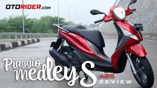 10. Piaggio Medley S 150 ABS Test Ride Review - Indonesia | OtoRider