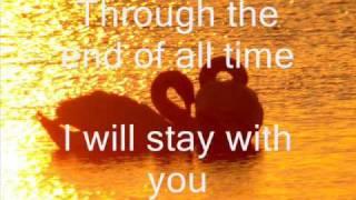 John Legend- Stay with you lyrics
