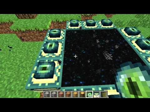 Minecraft- How to make end portal.