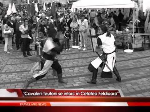 """""""Cavalerii teutoni se întorc în Cetatea Feldioara"""" – VIDEO"""