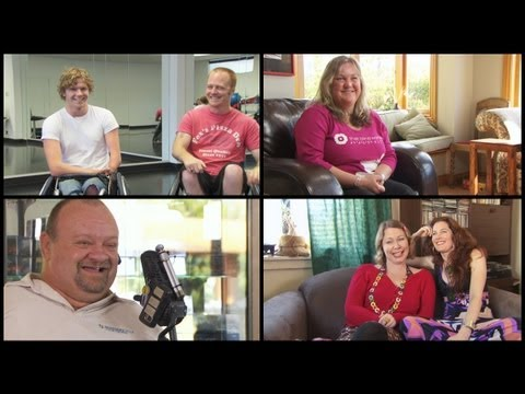 Disability - Living with a disability has its tough times... but lots of lighter moments too. We interviewed people all over the country to hear their insights; these fra...