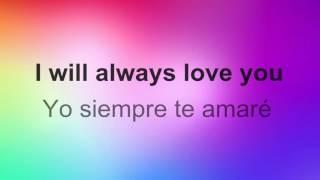 Ill Always Love You   Whitney HoustonSubtitulada inglésespañol