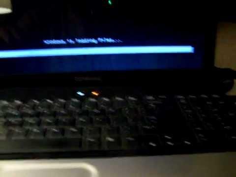 comment installer windows xp sur compaq cq61